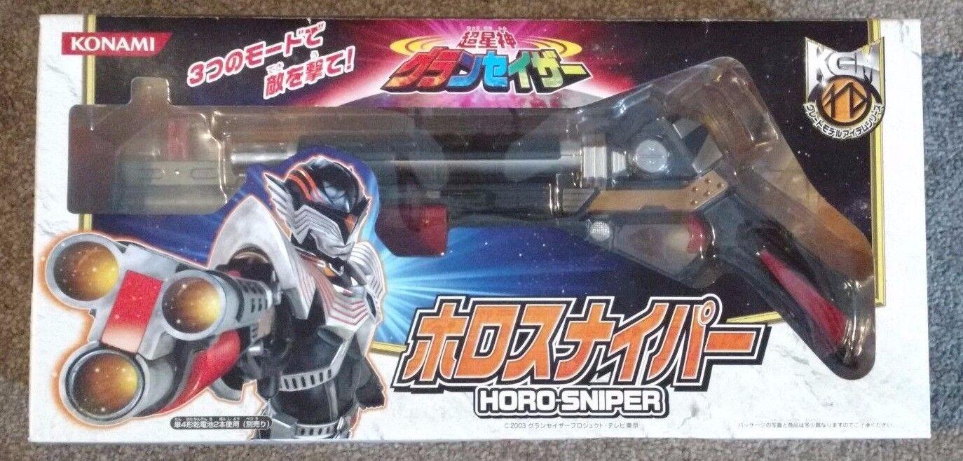 Chouseishin Gransazer Horo Sniper - Japan, RARE - Konami Tokusatsu Horosniper