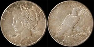1926-S-San-Francisco-Mint-Silver-Peace-Dollar-Toned-US-Type-Coin-OLD