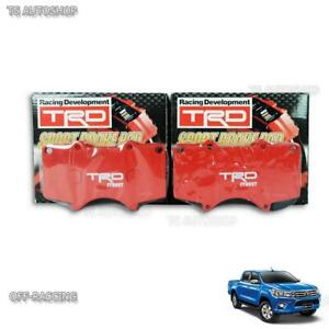 Set-TRD-Sports-Front-Brake-Pads-Genuine-For-Toyota-Hilux-Revo-Sr5-2015-2018-Trim