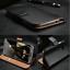 Luxe-Veritable-Genuine-Leather-Wallet-Case-Flip-antichoc-stand-Magnetique-Fonction miniature 1