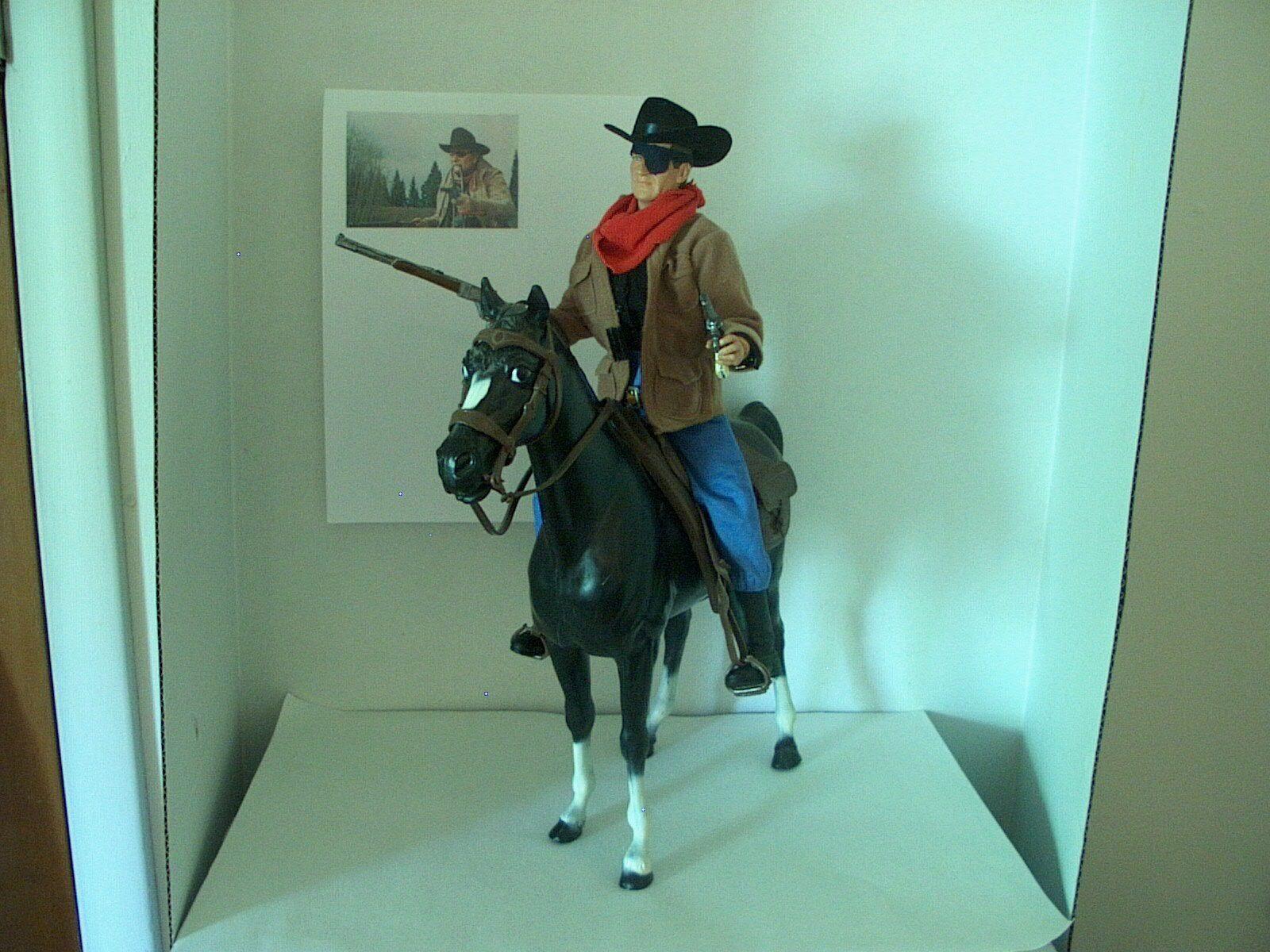 John John John Wayne True Grit Rooster Cogburn movie Old West 12  figure a8057f