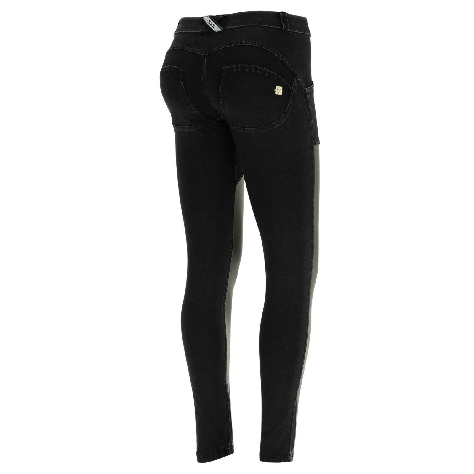 SCONTO SCONTO SCONTO 10% FREDDY WR.UP PANTALONE PUSH UP WRUP1RF801 JEANS INSERTI ECOPELLE 8cced7