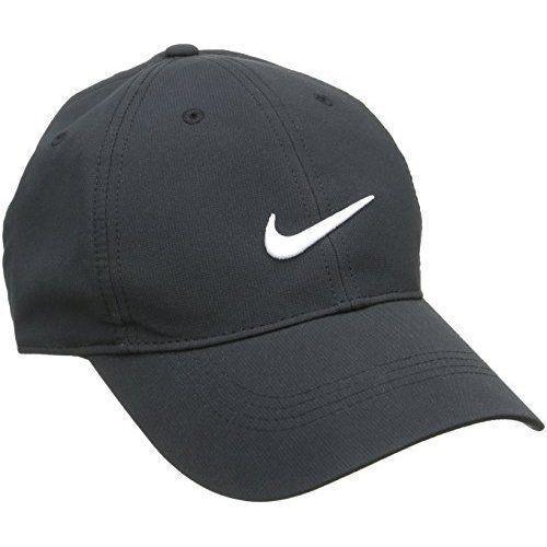 2d2cedf2b28 2016 Nike Golf Legacy 91 Tech Hat 727042 Adjustable Cap - Black White