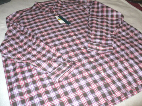$79 NEW NWT PERRY ELLIS MEN/'S BUTTON FRONT SHIRT BIG /& TALL SIZE XL 2X 3X 4X L//S