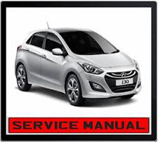 hyundai i30 gd 2012 2013 workshop repair service manual dvd ebay rh ebay com au Hyundai I30 Sport service manual hyundai i30 2014