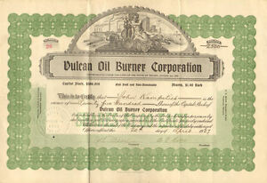 Vulcan-Oil-Burner-Company-gt-1927-Nevada-stock-certificate-share