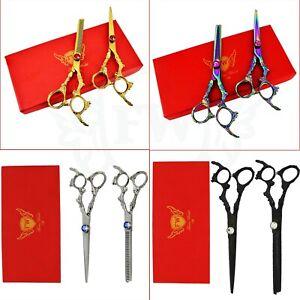 Professional-Hairdressing-Scissors-Barber-Salon-Hair-Cutting-Thinning-Shears-Set