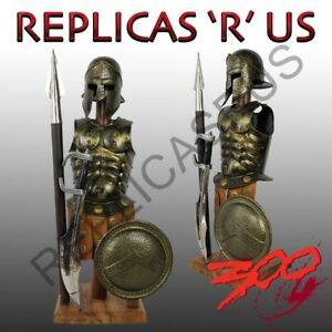 Greek-300-Spartan-Mini-Helmet-Armour-Set