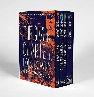 Lois Lowry - Giver Quartet Boxed Set (2014) - New - Trade Cloth (Hardcover)
