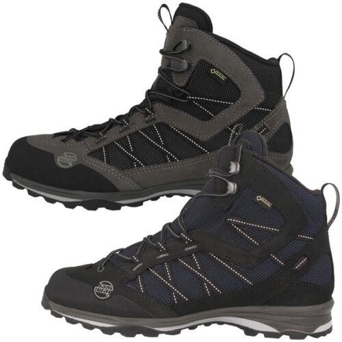 Hanwag Belorado II MID GTX Men Boots señores Gore-Tex zapatos outdoor Black 201000