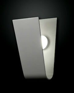 regulable-diseno-Lampara-de-pared-LED-Lampara-ceremonia-1-foco-Fabas-Luce-PLATA