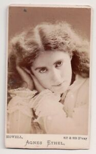 Vintage-CDV-Agnes-Ethel-Broadway-actress-Howell-Photo