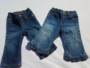 891d8fbe2ae8 Childrens Place Baby Girls Blue Jeans Denim Size 12 Months Bootcut ...