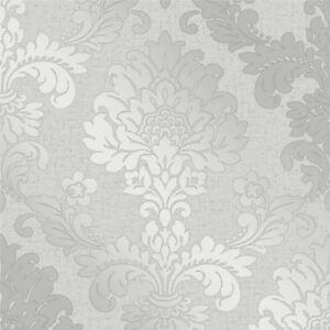 Quartz-Papier-Peint-Damas-Argent-fine-decor-FD41965-Paillette-Chatoyant
