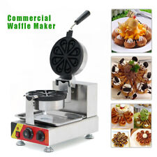 Np 593 Electric Waffle Maker Oven Stainless Waffle Bread Cooking Machine 1600w