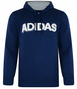 Details about Mens New Adidas Hooded Sweatshirt Hoodie Hoody Jumper Pullover Top Sweater Blue