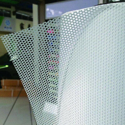 54 Quot X20 Quot White Perforated One Way Vision Print Media Vinyl