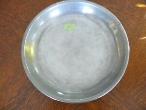 Rarität kleiner alter ca. 200 Jahre alter Zinn Suppenteller oder Katzenteller n1