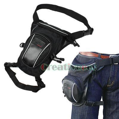 Men Oxford Riding Racing motorcycle Fanny Pack Waist Thigh Waterproof Leg Bag