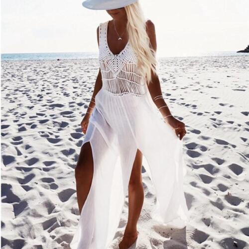 5856 Durchbohrt Kurzes Kleid Weiß Abdeckung Lang Schlank Etuikleid Sexy Kostüm ZAzqAxSwC
