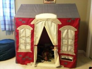 Pottery Barn Kids Playhouse Schoolhouse With Frame Ebay