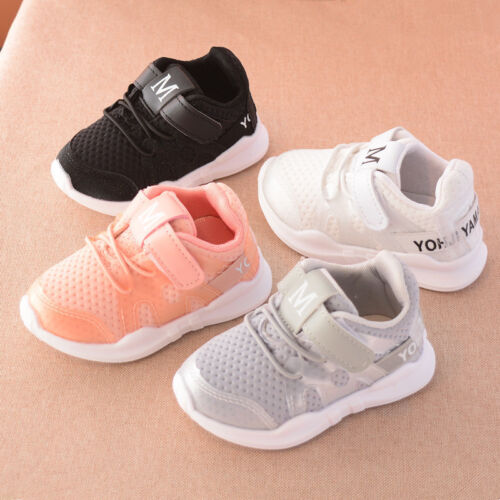 Fashion Kids Boy Girl Sports Trainer Children Casual Running Shoes Sneakers Mesh
