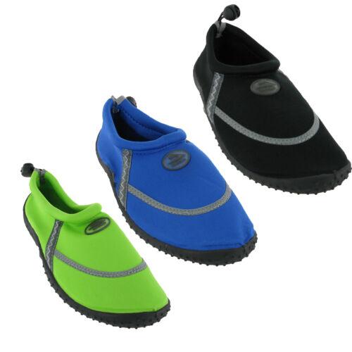 Beach Pool Water Sea Shoes Womens Unisex Aqua Surf Summer Holiday Toggle UK3-9