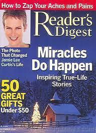 Magazine-Reader-039-s-Digest-December-2004-Jamie-Lee-Curtis-Miracles-do-Happen-12