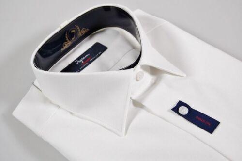 Camicia Regolare Cotone Taglia Ingram Stiro xxxxl Vestibilità Bianca 50 No 100 7qX7trw