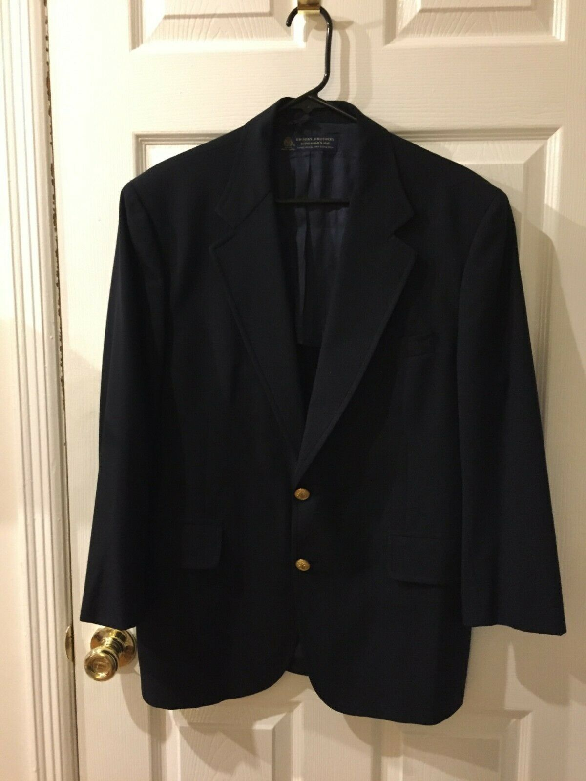 Brooks Bredhers 100% Wool Mens Sport Coat Size 40 S