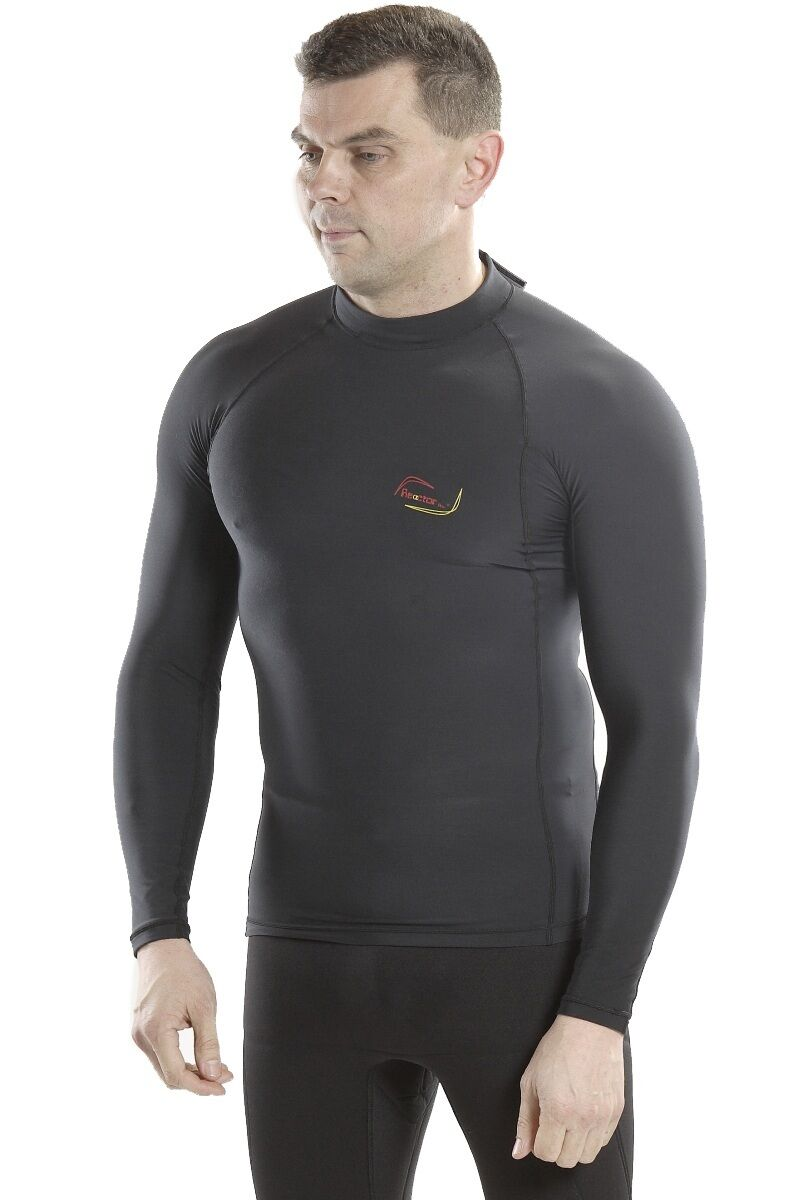 Reactor Reactor Reactor Thermo Lycra Fleece Shirt Thermoshirt Surfshirt Unterzieher unisex c1242f