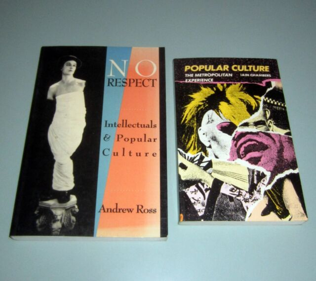 2 Books POPULAR CULTURE NO RESPECT INTELLECTUALS Psychedelic Hippies Media Music