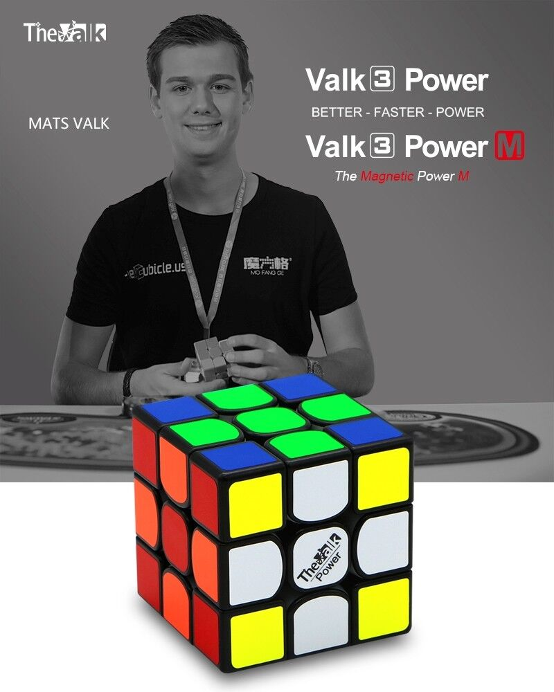 QiYi Valk 3 Power M magnetic 3x3 speedcube puzzle