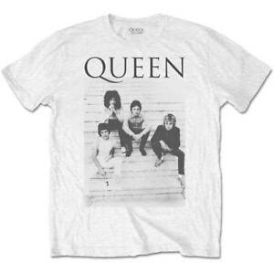 ad67c08dcf Details about Queen Freddie Mercury Brian May Band Profile 1 Official Tee T-Shirt  Mens