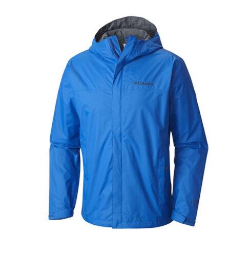 NEW COLUMBIA MEN/'S WATERTIGHT II SUPER BLUE RAIN JACKET
