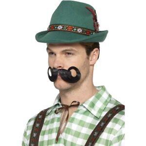 Deluxe-Alpine-Trenker-Hat-Mens-Fairytale-Robin-Hood-Fancy-Dress-Hat