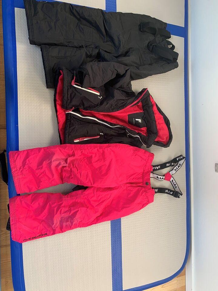 Skitøj, Skijakke og to par skibukser, Five season