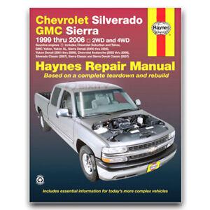 Haynes Repair Manual for 2007 Chevrolet Silverado 1500 ...