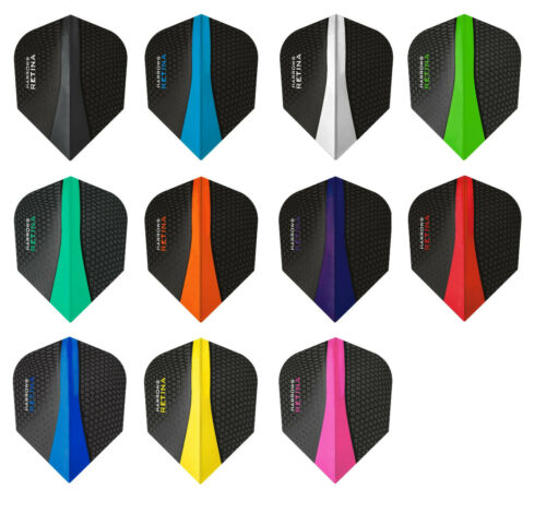 Harrows Flights - Retina 100 mic. Standardform Dart Flight 1er 3er 5er Set NEU