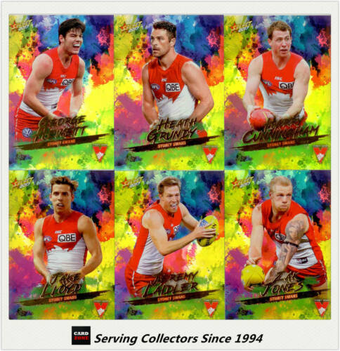 2017 Select AFL Footy Stars Trading Card Holofoils Card Team Set9SYDNEY
