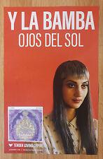 Music Poster Promo Y La Bamba ~ Ojos Del Sol