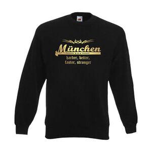 Felpa München S Stronger Faster 31c Better sfu10 Harder Pullover 6xl aaTqr