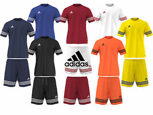 ADIDAS-MENS-ENTRADA-14-CLIMALITE-SHIRT-SPORTS-GYM-SHORTS-TRAINING-FOOTBALL-GYM