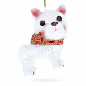 Yorkshire-Terrier-Blown-Glass-Christmas-Ornament