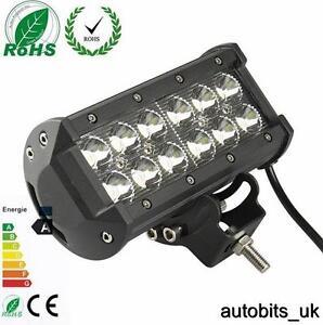 36W-CREE-LED-Lampe-de-travail-BARRE-PROJECTEUR-tout-terrain-voiture-camion-jeep