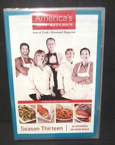 America 39 s test kitchen season 13 dvd 4 disc set new and for America test kitchen gift ideas