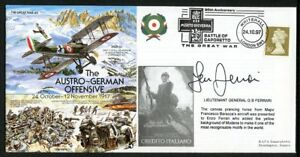 Cover commemorating the Austro-German Offensive in October 1917 (2018/11/11#4)