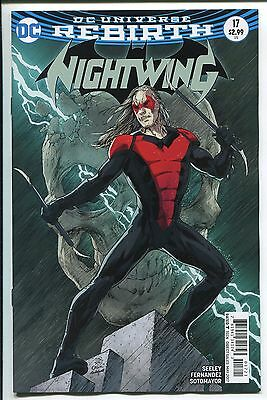 NIGHTWING #17 DC COMICS//2017 JAVIER FERNANDEZ ART /& REGULAR COVER REBIRTH