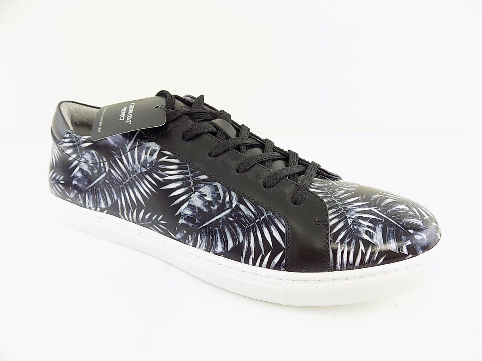 Kenneth Cole   KAM LEAF Black MEN Size 9M Fashion Sneakers CASUAL shoes D12