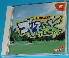 Golf Shiyouyo - The Golf Game - Sega Dreamcast DC - JAP Japan